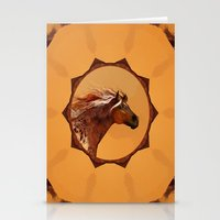HORSE - An Appaloosa called Ginger Stationery Cards