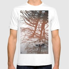 Trees Mens Fitted Tee SMALL White