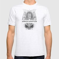 Amalgamation #4 Mens Fitted Tee Ash Grey SMALL