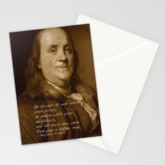 Ben Says Stationery Cards