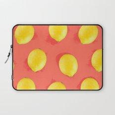 Watercolor Lemons Laptop Sleeve