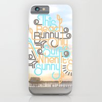 BEACH BUNNY iPhone 6 Slim Case