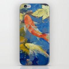Autumn Koi Garden iPhone & iPod Skin