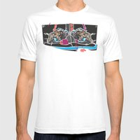 Buffalo Brawl 2 Mens Fitted Tee White SMALL