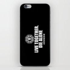Live Together iPhone & iPod Skin