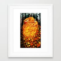 Woods Witch Framed Art Print