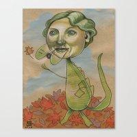 AUTUMN CROC Canvas Print