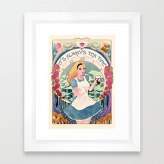 Alice Nouveau Framed Art Print