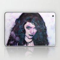 Portrait of Lorde Laptop & iPad Skin