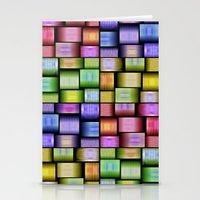 Modern Pattern Design Stationery Cards