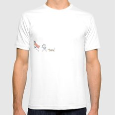 Summer Mens Fitted Tee SMALL White