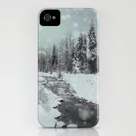 Blue Winter Landscape iPhone (4, 4s) Slim Case