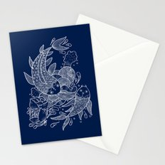 The Koi Fishes Stationery Cards