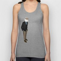 IT'S MORNING AND I THINK… Unisex Tank Top