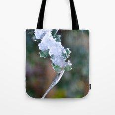Frozen Water Drop Tote Bag