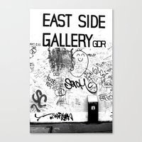 East Side Gallery - Berl… Canvas Print