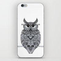 Owl iPhone & iPod Skin