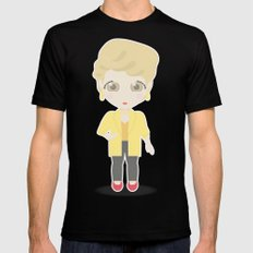 Girls in their Golden Years - Blanche Black SMALL Mens Fitted Tee