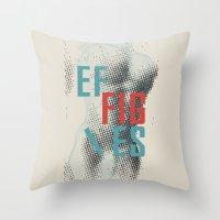 Effigies Throw Pillow