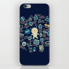 AWESOME BIBI'S GADGETS iPhone & iPod Skin