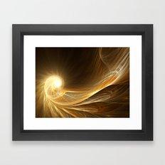 Golden Spiral Framed Art Print