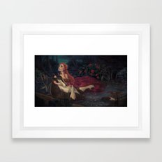 The Beast Dies Framed Art Print