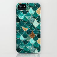 iPhone 5s & iPhone 5 Cases featuring REALLY MERMAID by Monika Strigel