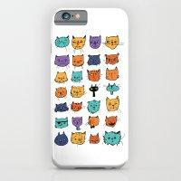 Stylish Cats iPhone 6 Slim Case