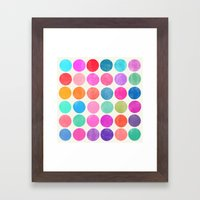colorplay 8 Framed Art Print