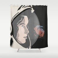 Complex Humans Shower Curtain