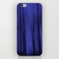 Nightblue Woods iPhone & iPod Skin