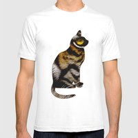 THE TIGER WITHIN 2 Mens Fitted Tee White SMALL