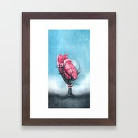Heart's Apart Framed Art Print
