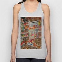 The Old Corner Shop. Unisex Tank Top