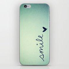 s  m  i  l  e  iPhone & iPod Skin