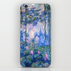 Water Lilies Monet iPhone & iPod Skin