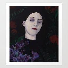 Dead Girl Art Print