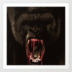 GORILLABLOOD Art Print