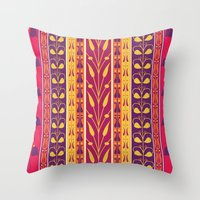 Palmette Throw Pillow