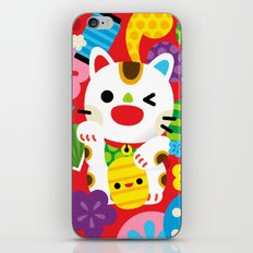 Maneki Neko iPhone & iPod Skin
