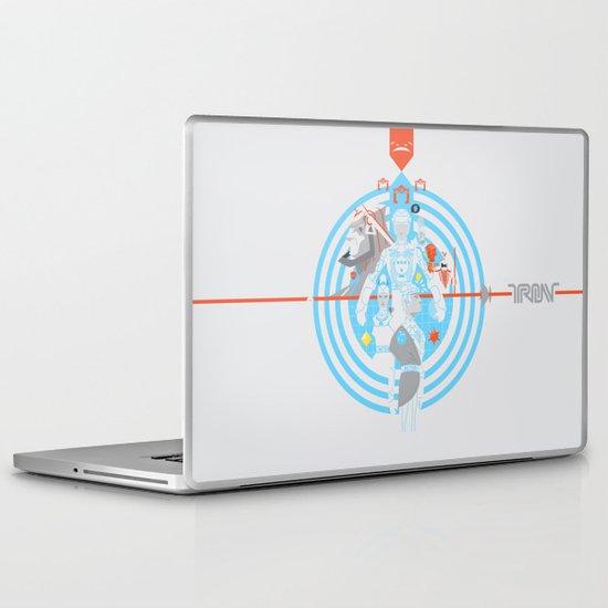 Tron Laptop & iPad Skin