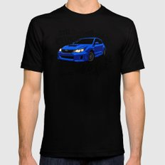 WRX Black SMALL Mens Fitted Tee