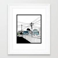 Carrington  Framed Art Print