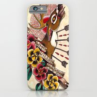 iPhone & iPod Case featuring Who Killed Bambi? by kate collins
