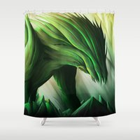 Vengevine Shower Curtain