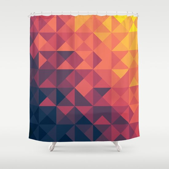 Infinity Twilight Shower Curtain