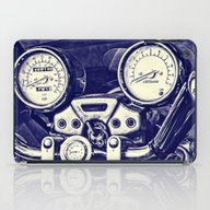iPad Case featuring I Love My Bike by Steve Purnell