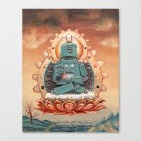 Buddha Bot v6.5 Canvas Print