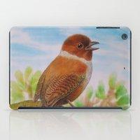 A Brown Bird iPad Case