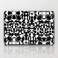 Black And White Square 2 iPad Case
